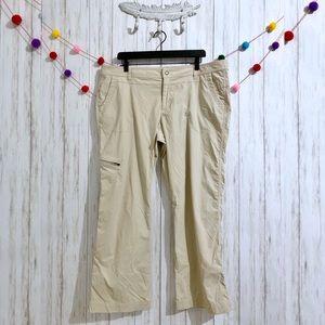 Eddie Bauer hiking cargo pants plus size petite